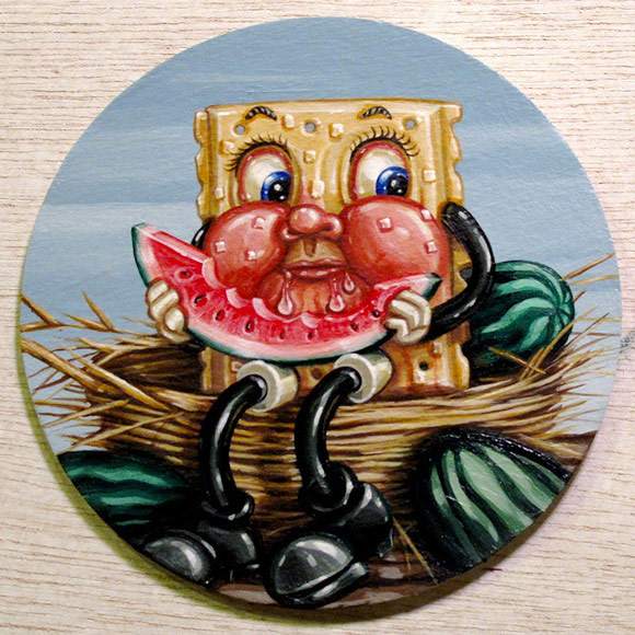 Dave Dexter – Cracker Consumption | The Coaster Show 2014, La Luz De Jesus Gallery