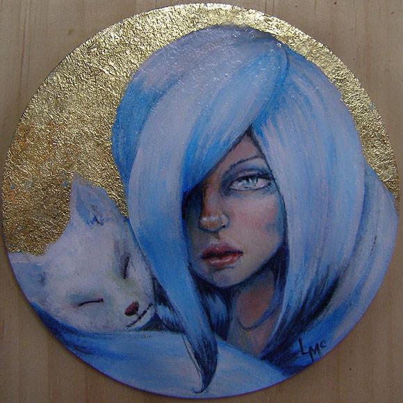 Laurie McClave – Kitsune | The Coaster Show 2014, La Luz De Jesus Gallery