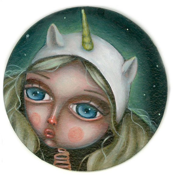Linda Halsey – Moonlight #4 | The Coaster Show 2014, La Luz De Jesus Gallery