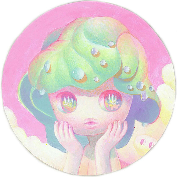 So Youn Lee – Spinach – Twilight Sprinkle | The Coaster Show 2014, La Luz De Jesus Gallery