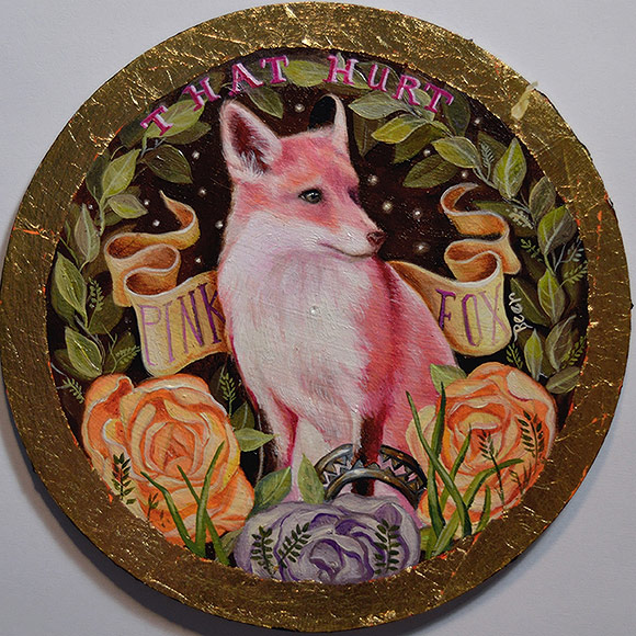 Susanne Apgar – Pink Fox Beer | The Coaster Show 2014, La Luz De Jesus Gallery