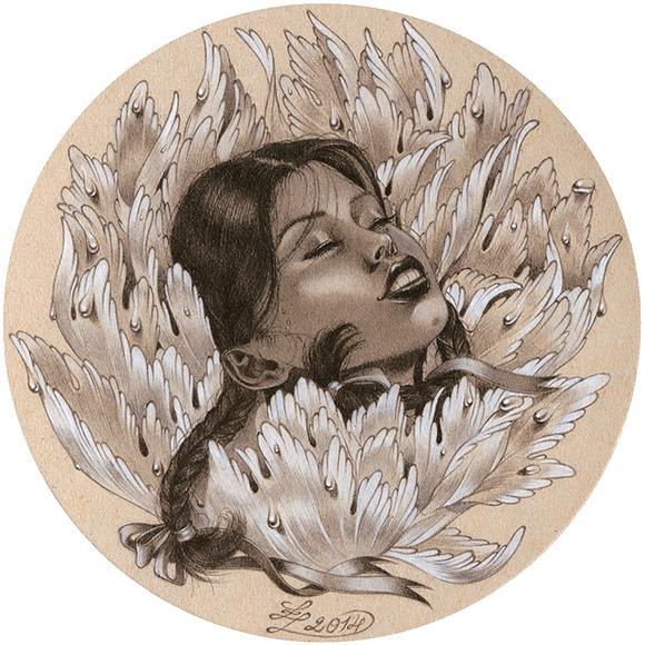 Zoe Lacchei – La Petite Mort | The Coaster Show 2014, La Luz De Jesus Gallery