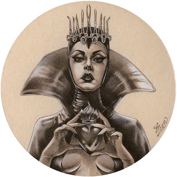 Zoe Lacchei – The Queen | The Coaster Show 2014, La Luz De Jesus Gallery