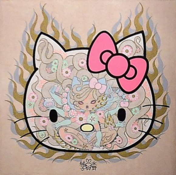 Junko Mizuno - Hello! Exploring the Supercute World of Hello Kitty, 40th anniversary - LA's Japanese American National Museum