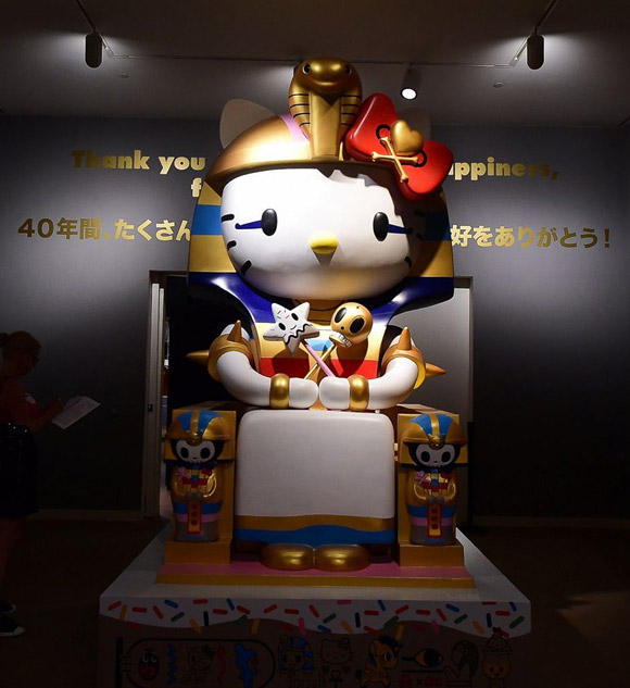 Simone Legno, Kittypatra - Hello! Exploring the Supercute World of Hello Kitty, 40th anniversary - LA's Japanese American National Museum