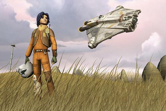 Lucasfilm + Disney - Star Wars Rebels TV Movie & Series
