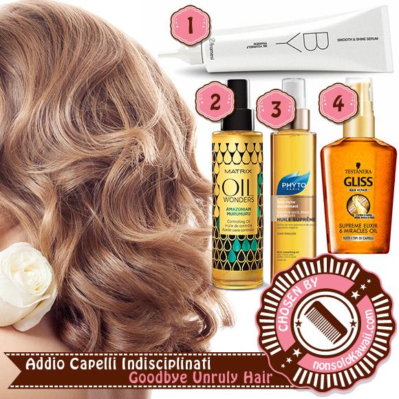 non solo Kawaii - Hair Care & Styling - Fall 2014: Addio Capelli Indisciplinati / Goodbye Unruly Hair