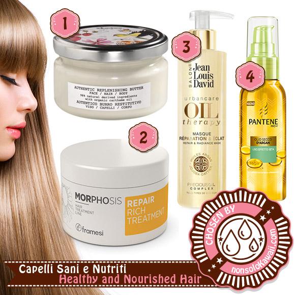 non solo Kawaii - Hair Care & Styling - Fall 2014: Capelli Sani e Nutriti / Healthy and Nourished Hair