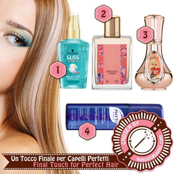 non solo Kawaii - Hair Care & Styling - Fall 2014:<br /> Un Tocco Finale per Capelli Perfetti / Final Touch for Perfect Hair