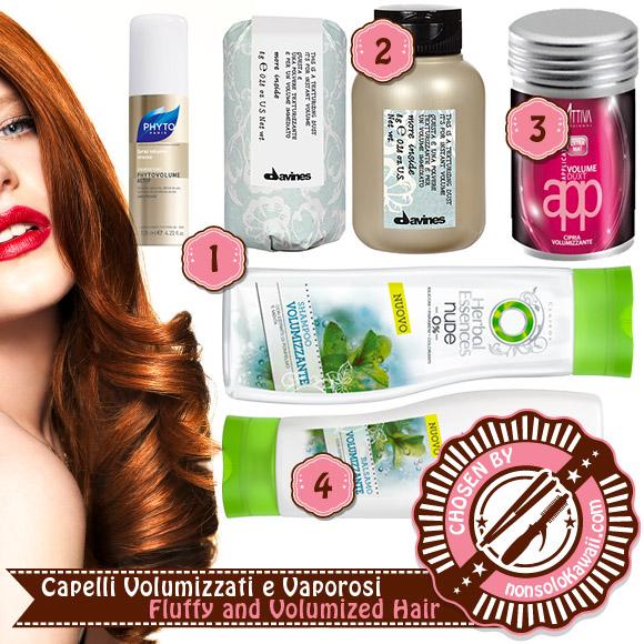 non solo Kawaii - Hair Care & Styling - Fall 2014:<br /> Capelli Volumizzati e Vaporosi / Fluffy and Volumized Hair