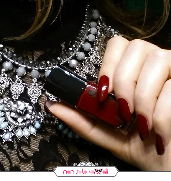 non solo Kawaii - Lancôme Vernis in Love 137 Rouge Cabaret