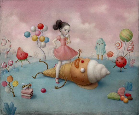 Nicoletta Ceccoli, Consumed By You - Sweet & Low Exhibition
