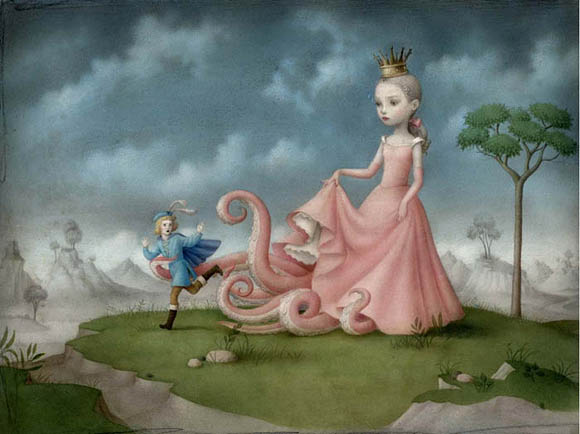 Nicoletta Ceccoli, Dangerous Liaisons - Sweet & Low Exhibition