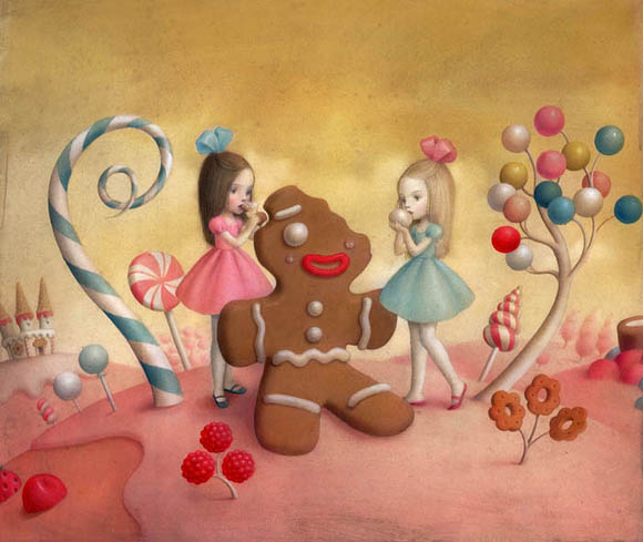 Nicoletta Ceccoli, Material Girls - Sweet & Low Exhibition