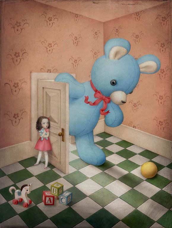 Nicoletta Ceccoli, Honey, I'm Home - Sweet & Low Exhibition