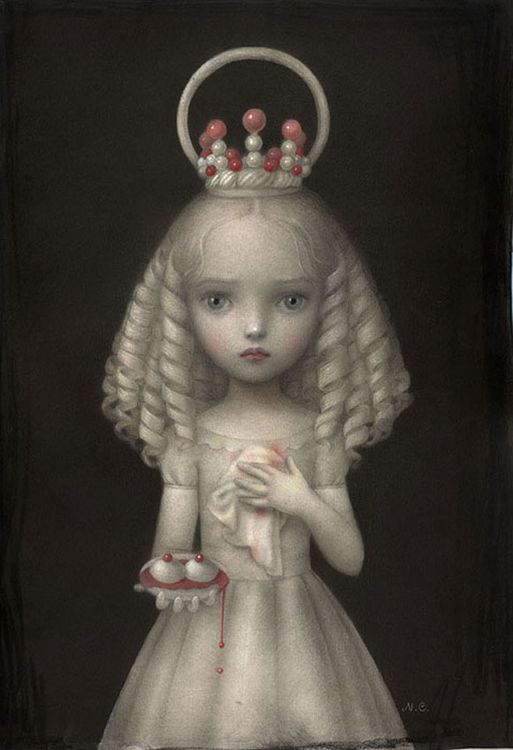 Nicoletta Ceccoli, Dulcis Agata - Sweet & Low Exhibition