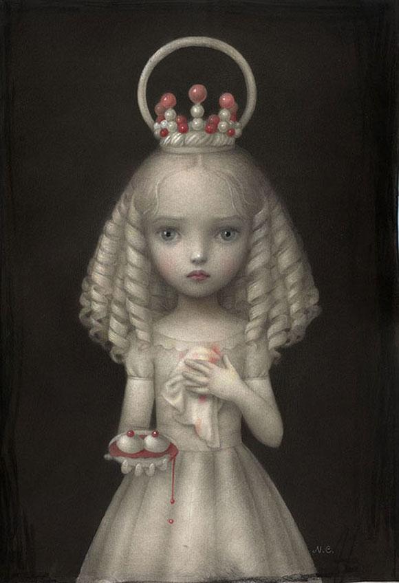 Nicoletta Ceccoli, Dulcis Agata - Sweet & Low Exhibition