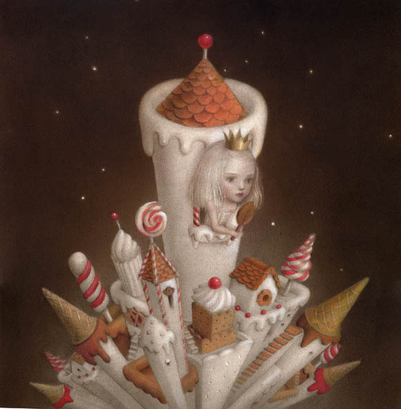 Nicoletta Ceccoli, Sweet is the Night - Sweet & Low Exhibition