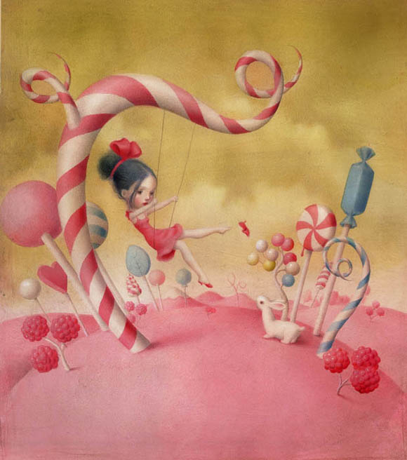 Nicoletta Ceccoli, All You Need is Love - Sweet & Low Exhibition