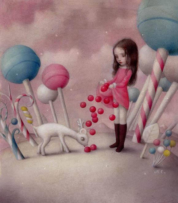 Nicoletta Ceccoli, Sweet Addiction - Sweet & Low Exhibition