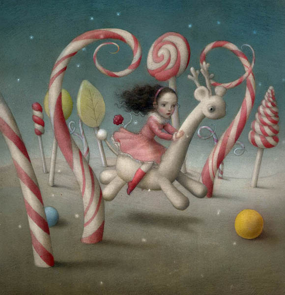 Nicoletta Ceccoli, The Sweetest Journey - Sweet & Low Exhibition