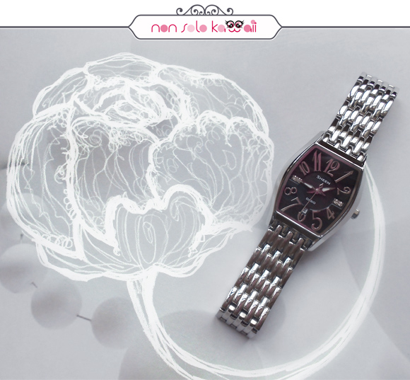 non solo Kawaii, photo by Angela Chiappa, illustrations by Laura Castellanza - Sheen by Casio SHE-4027D-1A (black)