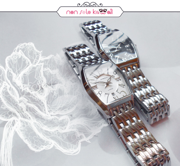 non solo Kawaii, photo by Angela Chiappa, illustrations by Laura Castellanza - Sheen by Casio SHE-4027D-7A (white) SHE-4027D-1A (black)