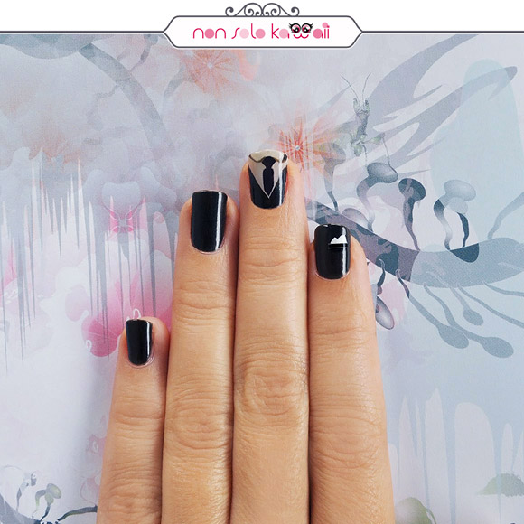 non solo Kawaii - Nail Arts for Grazia.it, Girl in Man Suit
