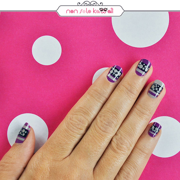 non solo Kawaii - Nail Arts for Grazia.it, '60s Dots