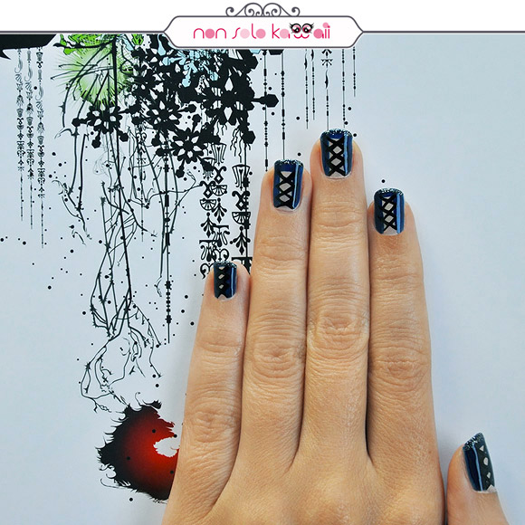 non solo Kawaii - Nail Arts for Grazia.it, These Boots Are Made For Walkin'