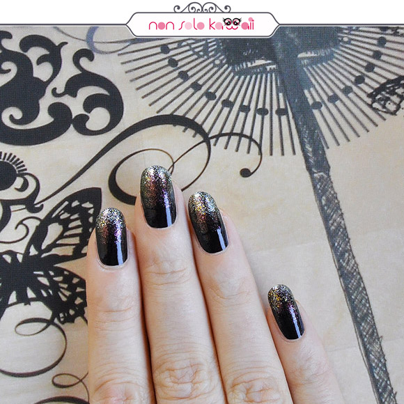non solo Kawaii - Nail Arts for Grazia.it, Over Glitter