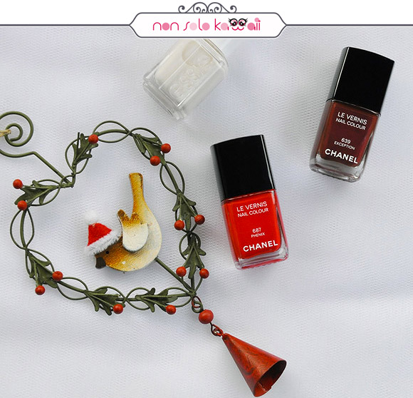 non solo Kawaii - Nail Arts for Grazia.it, Let it Snow
