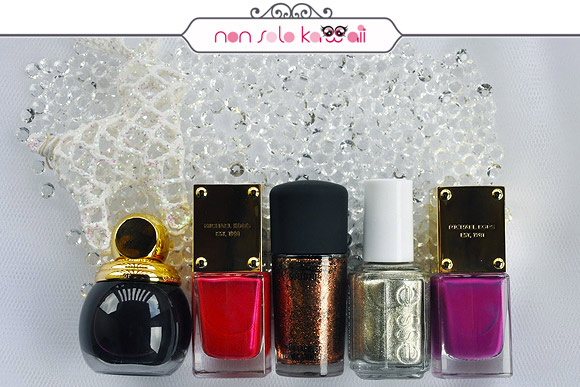non solo Kawaii - Nail Arts for Grazia.it, Fireworks