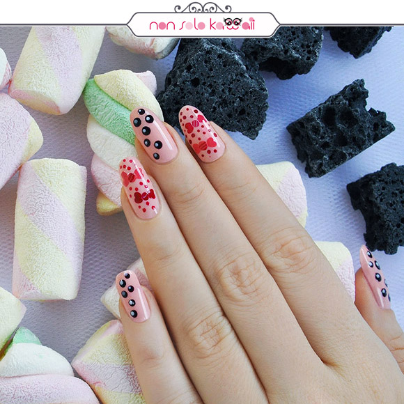 non solo Kawaii - Nail Arts for Grazia.it, Matelassé