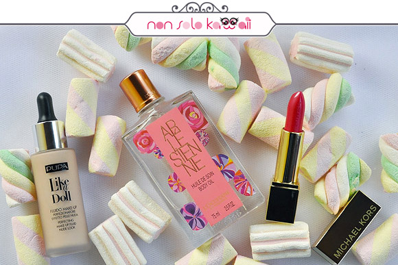 non solo Kawaii - Nail Arts for Grazia.it, Caramelle & Carbone