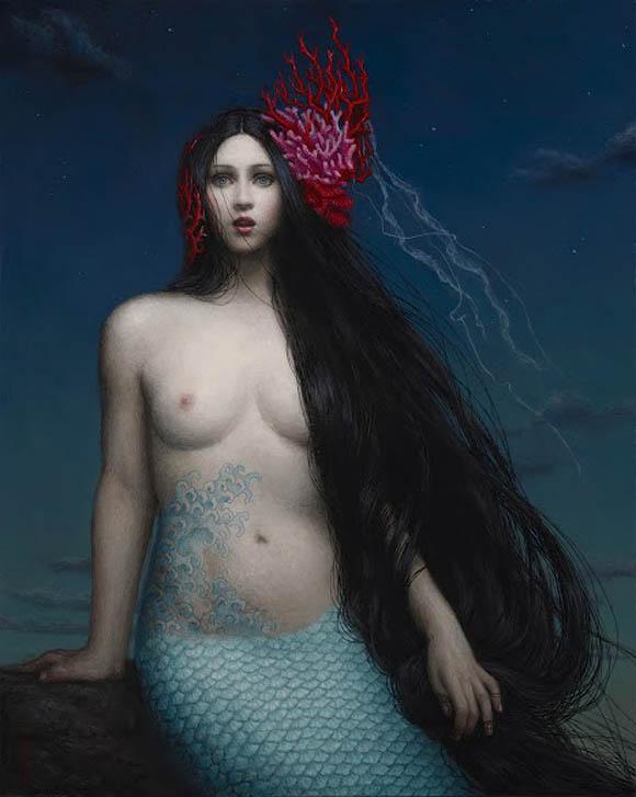Chie Yoshii, Siren   Incantation - Roq La Rue Gallery