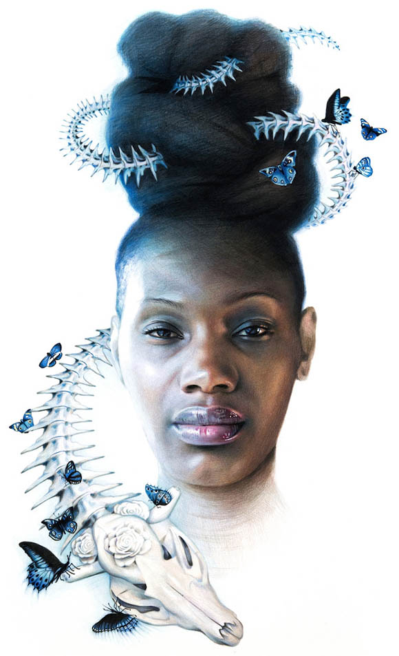 Erica Levine, Opaline   Incantation - Roq La Rue Gallery
