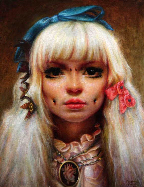Rose Freymuth-Frazier, RFF-FrozenLove   Incantation - Roq La Rue Gallery