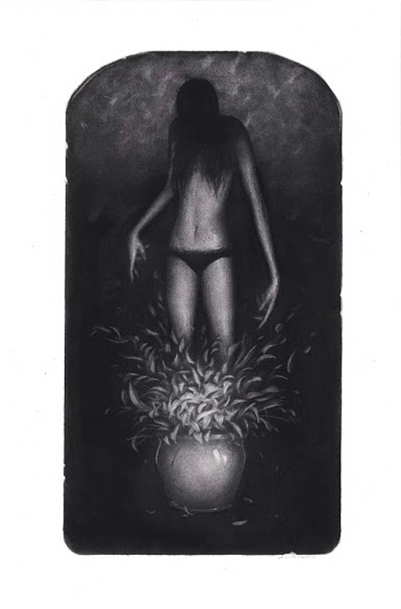 Sam Wolfe Connolley, And There It Bloomed | Incantation - Roq La Rue Gallery | Incantation - Roq La Rue Gallery