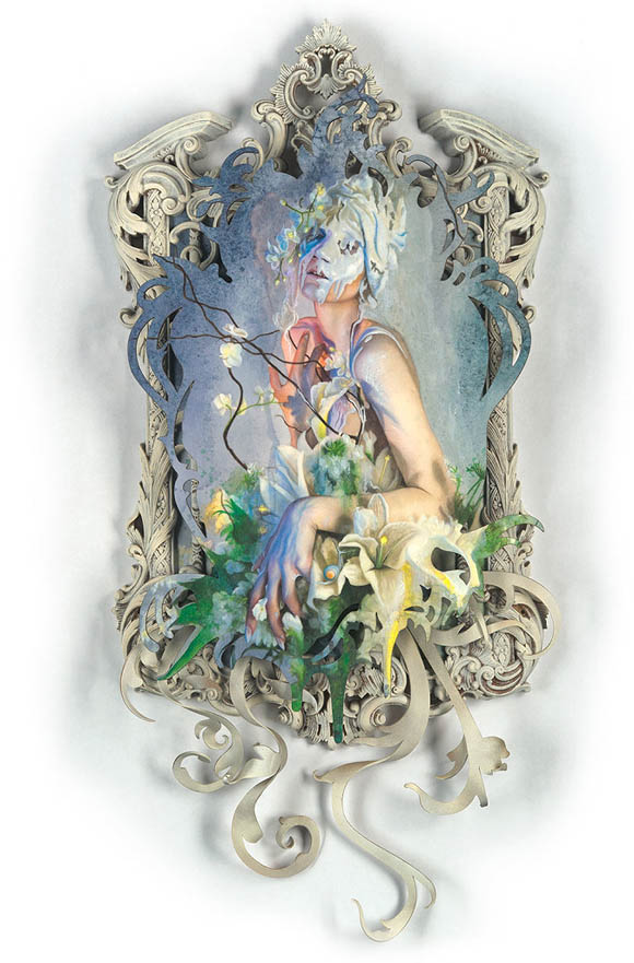 Redd Walitzki, Sing My White Night   Incantation - Roq La Rue Gallery
