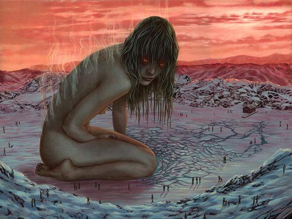 Casey Weldon, Thaw   Incantation - Roq La Rue Gallery