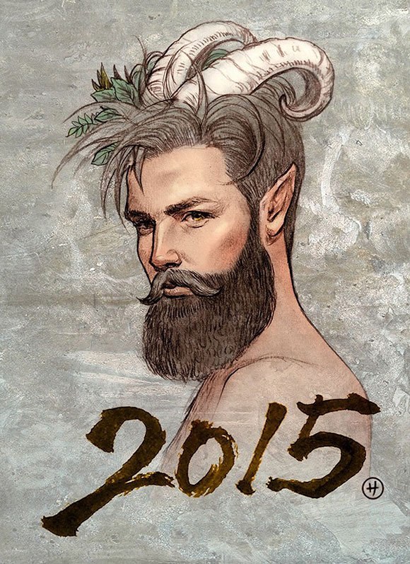 Zhen Huang, 2015 Year of the Goat