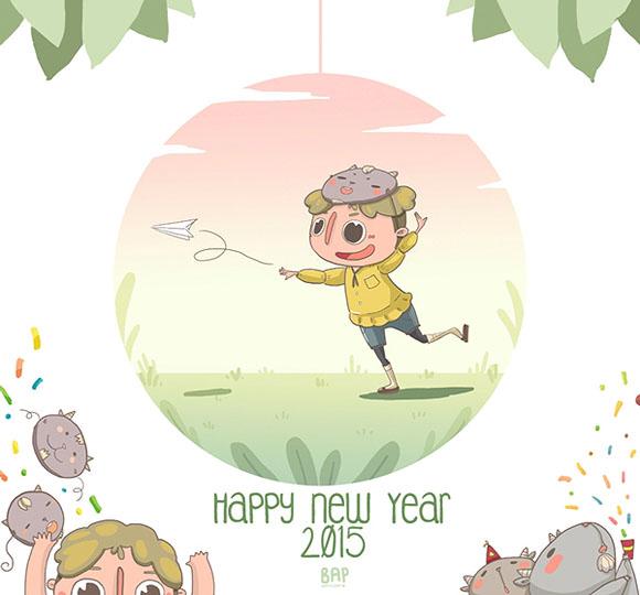 Bapple Bap, HNY 2015