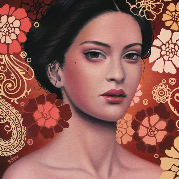 Sarah Joncas - Savannah Sunset (2015) | La Familia – Thinkspace 10th Anniversary Show