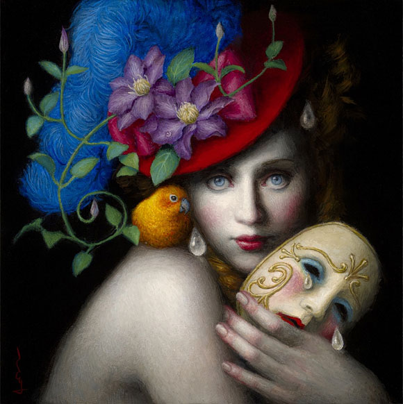 Chie Yoshii - Mask (2015) | La Familia – Thinkspace 10th Anniversary Show