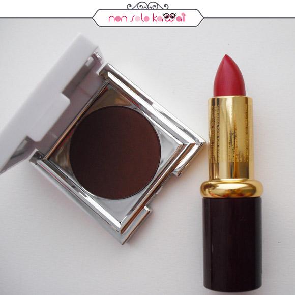 non solo Kawaii - Layla Eye-ART Extreme Eye Shadow 21 + Layla High Mat Lipstick M15