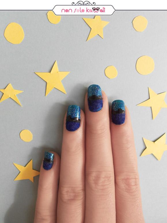 non solo Kawaii - Nail Art & Photo: Laura Castellanza | Nail Polishes Layla Velvet Effect 09 Sweet Dreams, Layla Smalto Glitter Blu