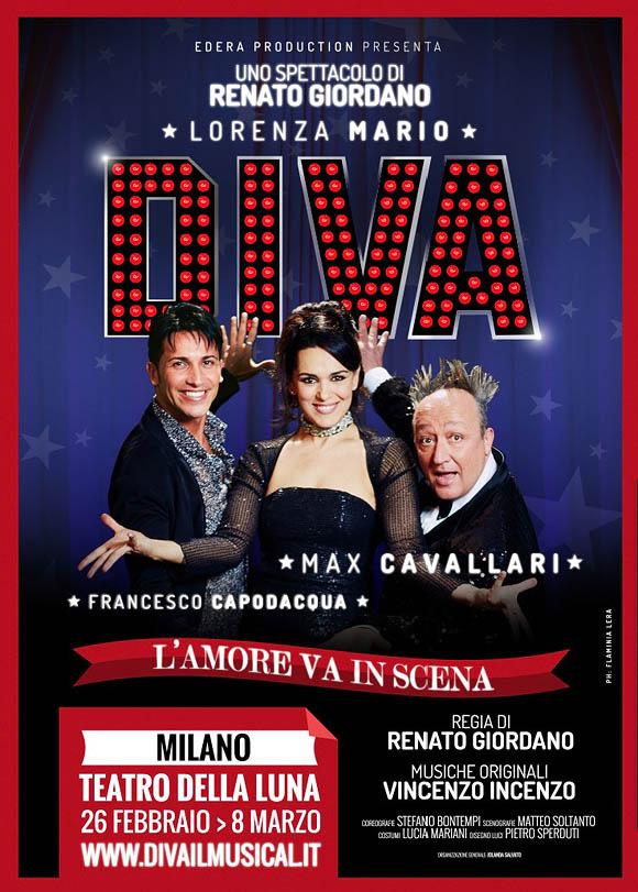 Diva The Musical - Lorenza Mario, Max Cavallari, Francesco Capodacqua