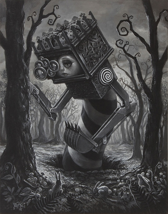 From the Below, Aaron Jasinski - The Nightmare In Wonderland project Part 0, Rotofugi Gallery