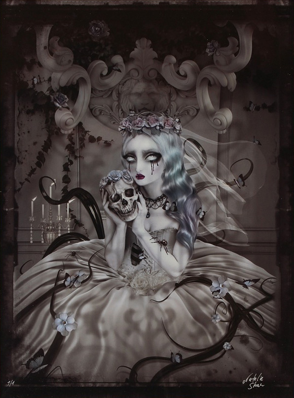 Lovely Bones, Natalie Shau - The Nightmare In Wonderland project Part 0, Rotofugi Gallery